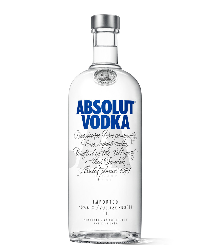 Absolut vodka 40% 1x1 l